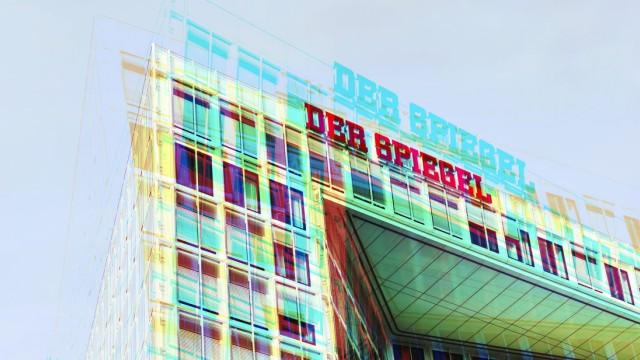 Spiegel Verlagshaus in Hamburg aufgedeckter Betrugsfall bei dem Spiegel Magazin *** Spiegel publish