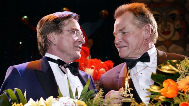 Fritz Wepper und sein Bruder Elmar Wepper