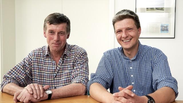 Peter Fichtner und Hans Urban