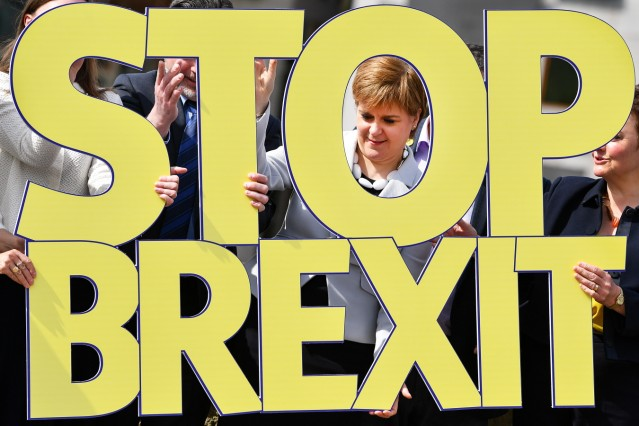 *** BESTPIX *** SNP Launch Their European Election Campaign