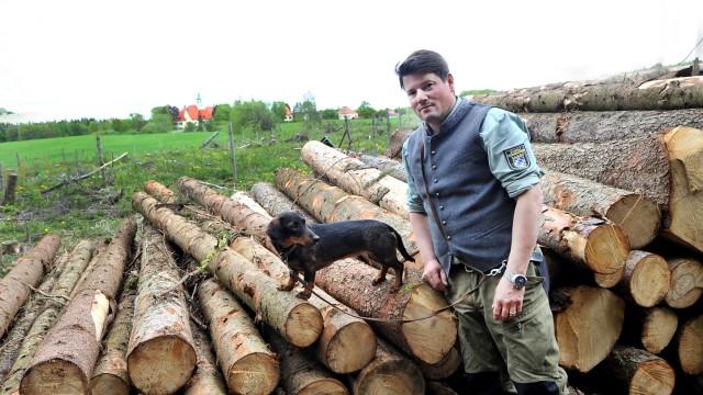 Starnberg: Forstrevier von Förster Luitpold Schneider und seiner Dackeldame Nelly