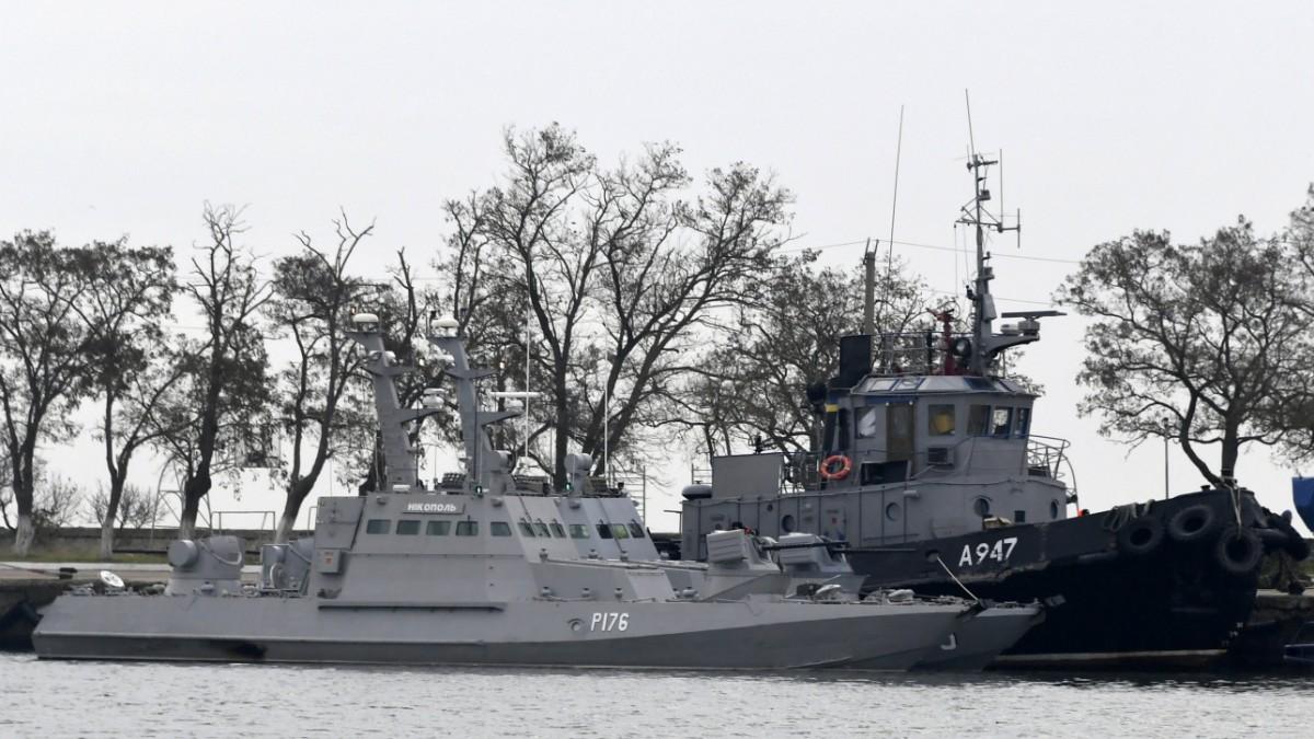 Seegerichtshof: Russland muss ukrainische Matrosen freilassen