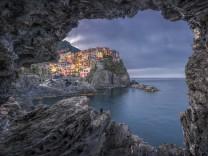 Italy, Liguria, La Spezia, Cinque Terre National Park, Manarola