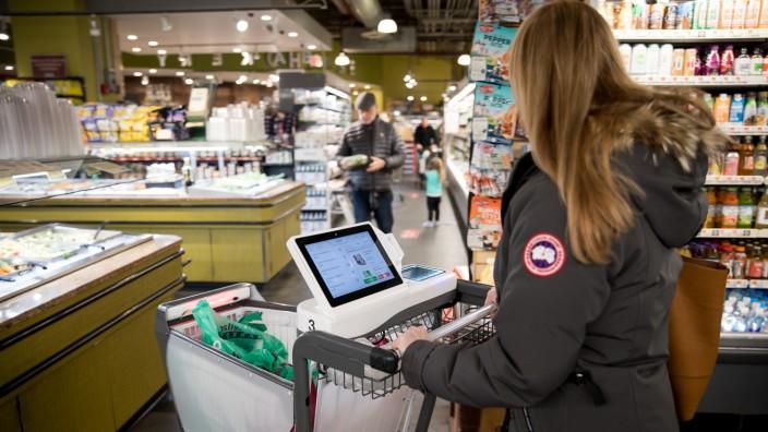 Amazon-Go-Supermarkt in New York