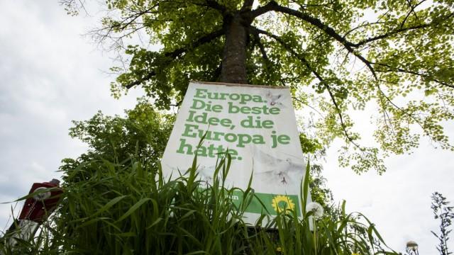 Taufkirchen, Wahlplakate,