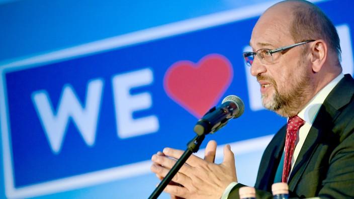 Martin Schulz (SPD) während des Europawahlkampfs 2019