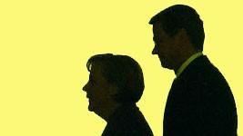 Westerwelle, Merkel, Reuters