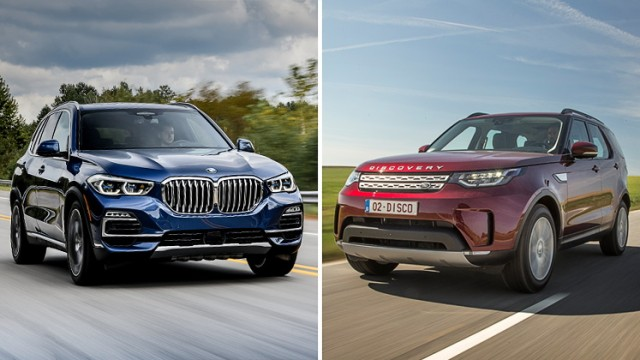 Autotest BMW X gegen Land Rover Discovery