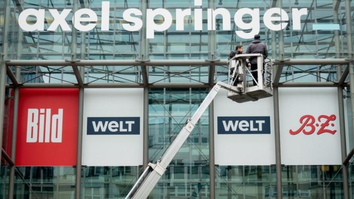 Neues Axel Springer Logo