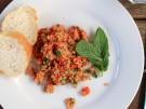 Rezept Bulgursalat Minze Paprika Tomate tuerkisch vegan vegetarisch