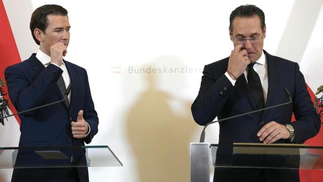 Österreichs Vizekanzler Strache vor dem Aus