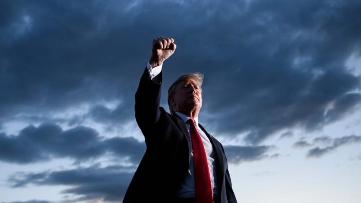 US President Donald Trump Travels to Montoursville, Pennsylvania