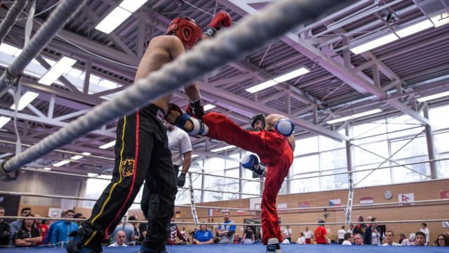 German Open Kickbox im Sportpark 2017
