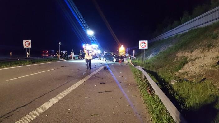 Unfall auf A99