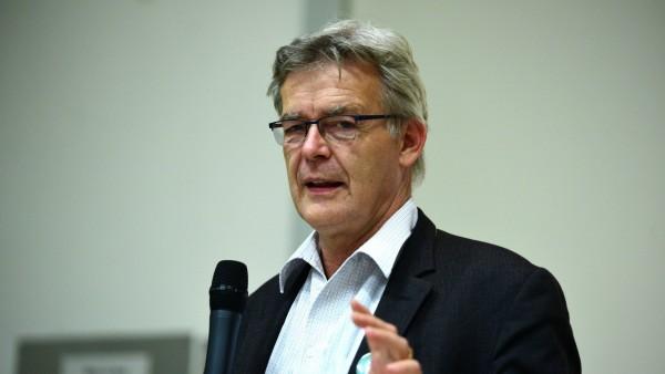 """Cornelius Mager diskutiert über """"Wachstum in München"""", 2018"""