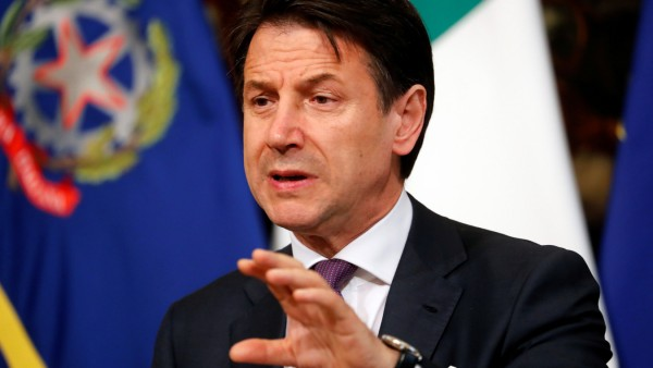 Italien Regierung Conte