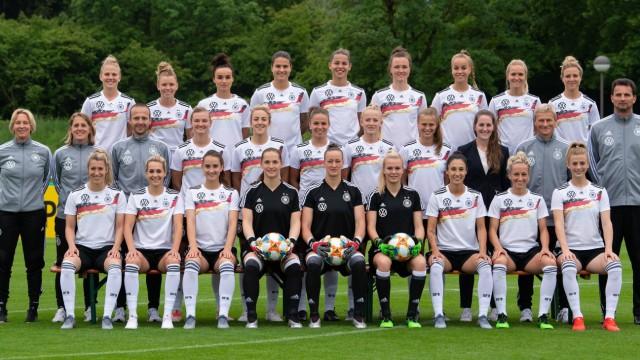 Fußball - Deutsche Frauen-Nationalmannschaft vor der WM 2019 in Frankreich