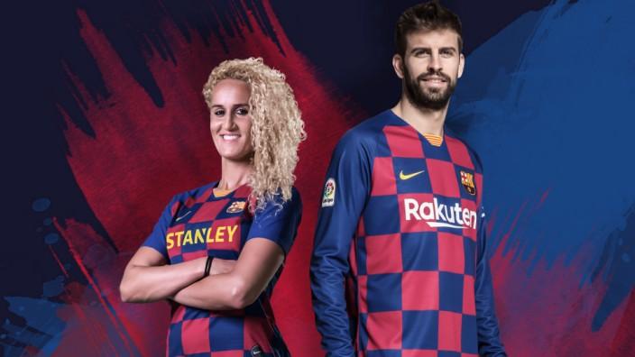 FC Barcelona stellt neue Trikots vor