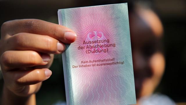 Ausweis für Flüchtlinge - Duldung