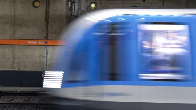 U-Bahnhof Petuelring in München, 2019