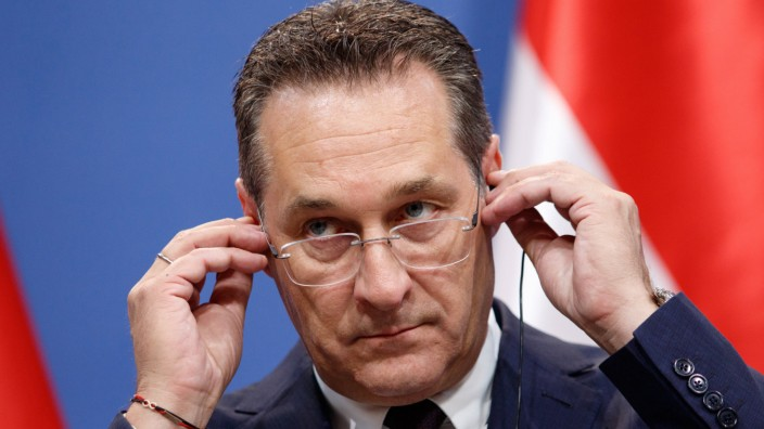 Austrian vice chancellor Strache Budapest Hungary UNGARN 06 05 2019 Budapest Besuch des oester