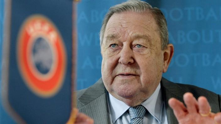 Früherer UEFA-Präsident Johansson gestorben