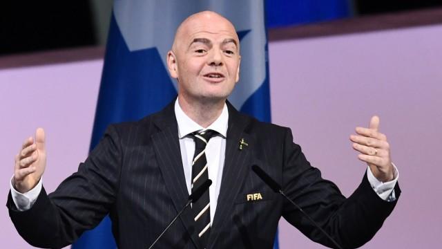 Sportpolitik Fifa-Boss Infantino
