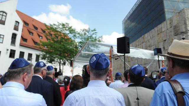 Demonstrationg gegen Antisemitismus in München, 2018