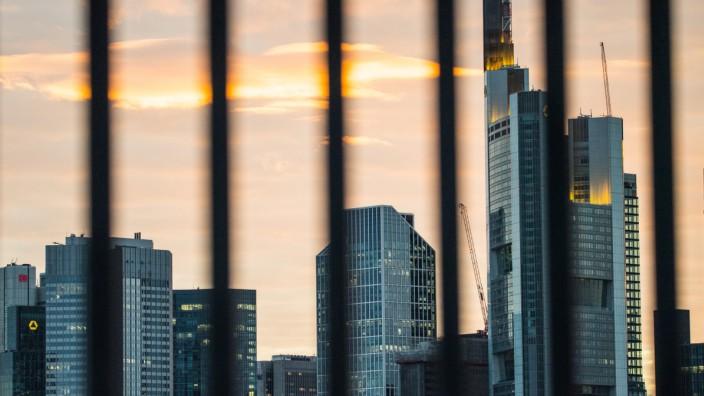 Bankentürme in Frankfurt