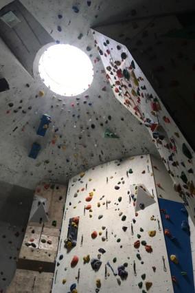 Die DAV-Sektion Markt Schwaben bringt ihre Kletterhalle auf Vordermann