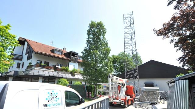 Tutzing:Kirchenstrasse Mobilfunkmast