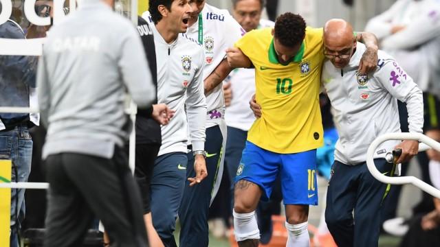 Verletzung bei Länderspiel