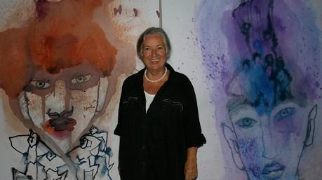 Köpfe Künstlerin Barbara von Johnson