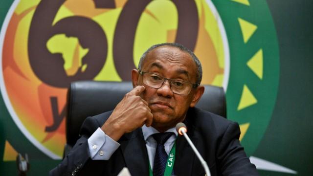 CAF-Präsident Ahmad Ahmad
