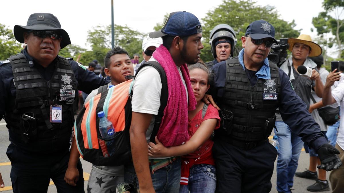 Mexiko schickt Nationalgarde an Grenze zu Guatemala