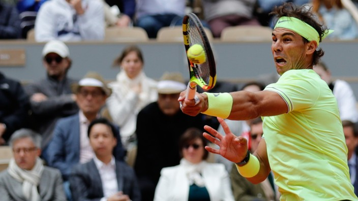 French Open - Rafael Nadal im Halbfinale der French Open 2019 gegen Roger Federer