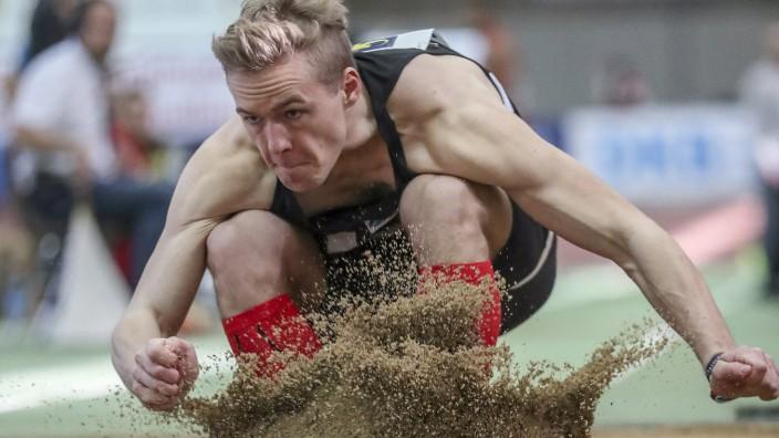 Deutsche Hallenmeisterschaften Dortmund 18 02 2018 Paul Walschburger LG Stadtwerke Muenchen Deu; Leichtathletik