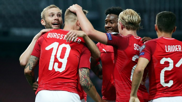 Euro 2020 Qualifier - Group G - Austria v Slovenia