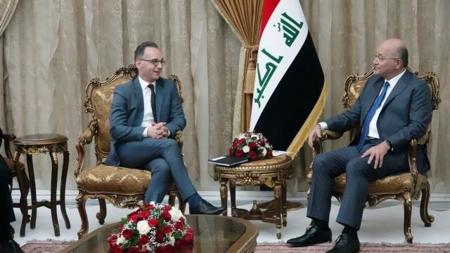 Außenminister Maas im Irak
