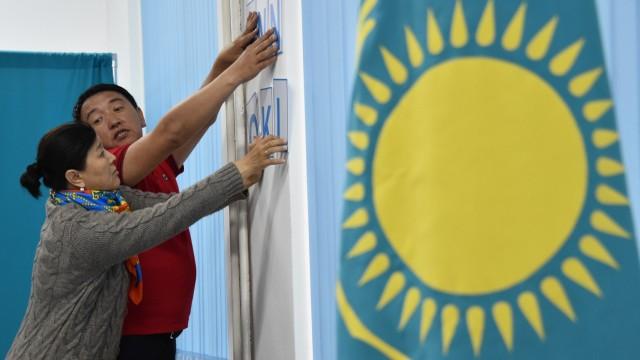 Kasachstan Wahl in Kasachstan