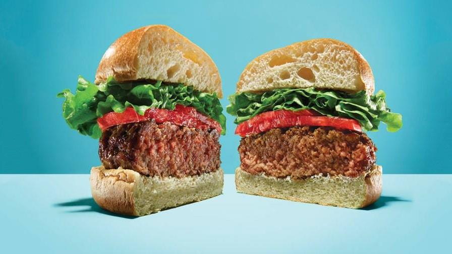 Auch ein Veggie-Burger ist ein Burger