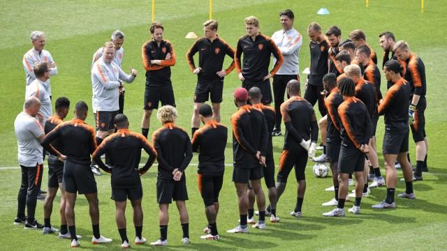 Vor Finale in der Nations League - Training Niederlande