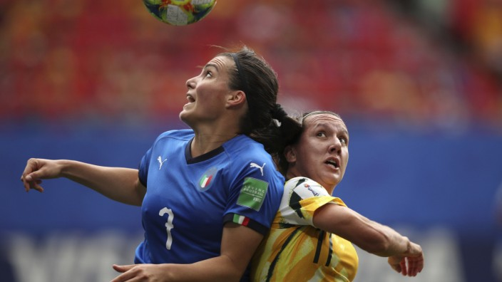 Frauenfußball-WM - Australien - Italien