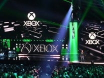 Microsoft Xbox presser at E3 video game conference
