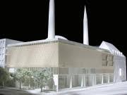 Modell Moscheeprojekt Sendling