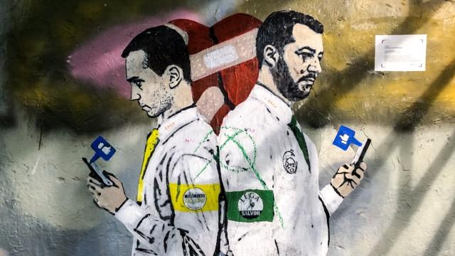 Italien di Maio Salvini