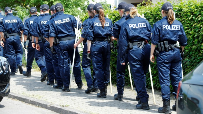 Mordfall Walter Lübcke - Polizisten in Hessen auf Spurensuche