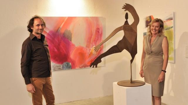 Gauting: Remise Ausstellung von Angela Sommerhof, Felix Flesche und Ulrich Schweiger