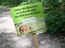 Wildes Sexplakat: Mountainbiker wollen Wald-Verkehr regeln (Vorschaubild)