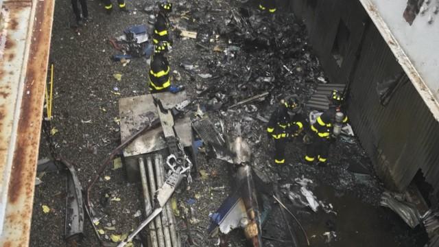 New York Hubschrauber Absturz